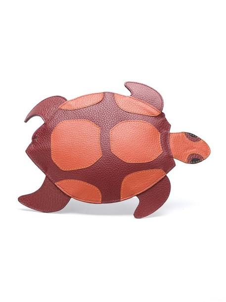 women turtle purse nude bag