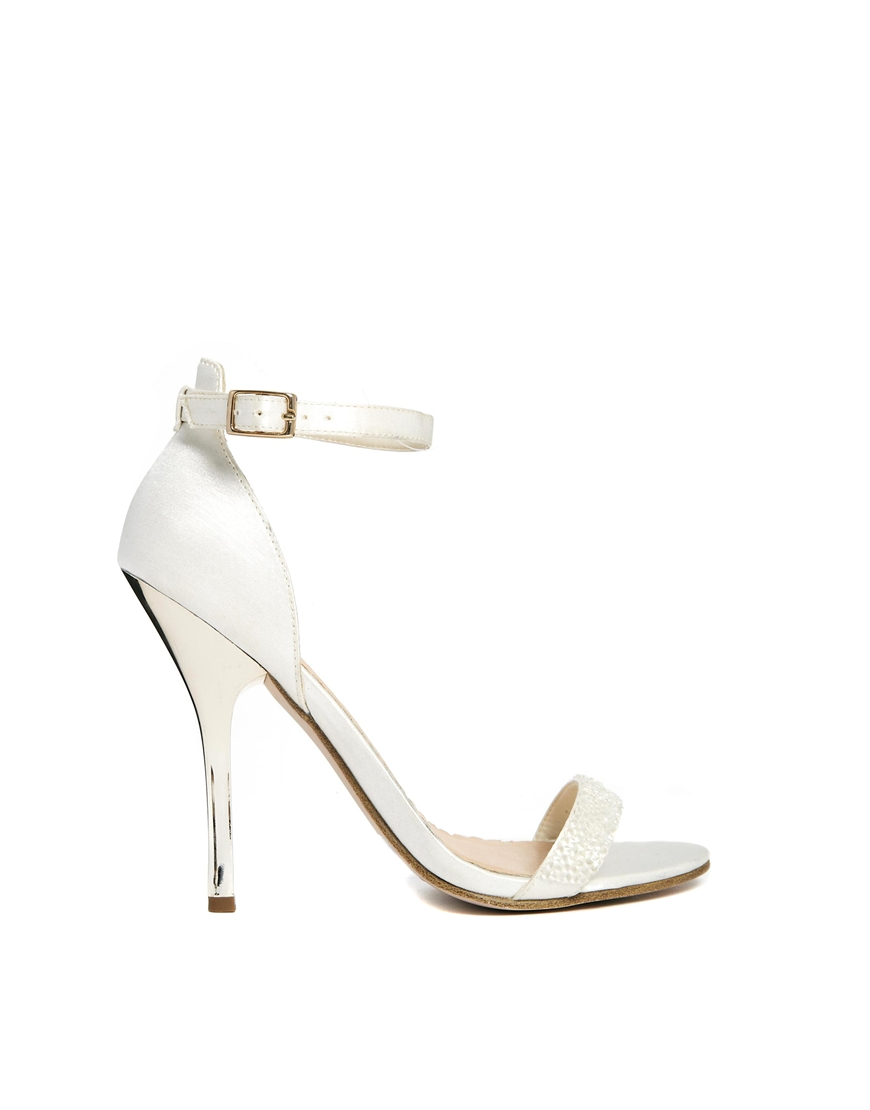 ASOS HONESTY Heeled Sandals at asos.com