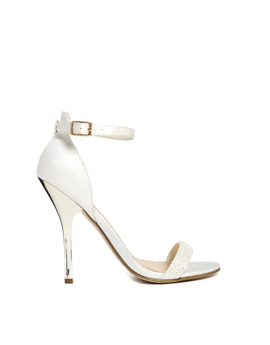 ASOS HONESTY Heeled Sandals at asos.com