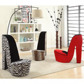 High Heel Shoe Fabric Chair | Overstock.com Shopping - The Best Deals on Living Room Chairs