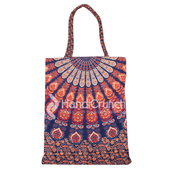 bag,handbag,tote bag,mandala