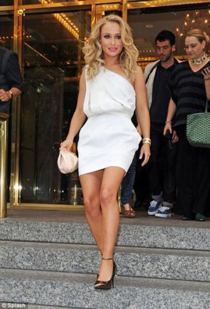 dress white dress short dress