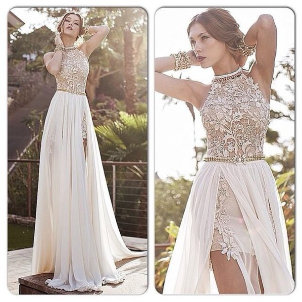 Dress: long evening dress, long prom dress, maxi dress, julie vino ...