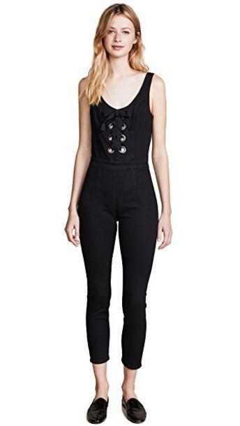 3x1 jumpsuit black
