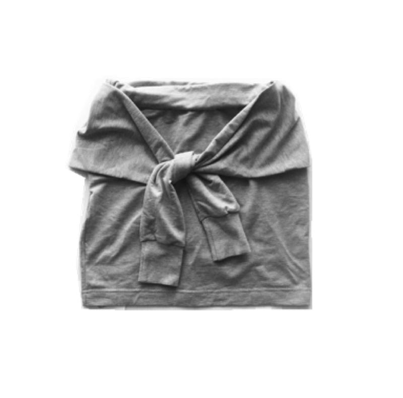 Fake Sweater Wrap Skirt | my mum made it