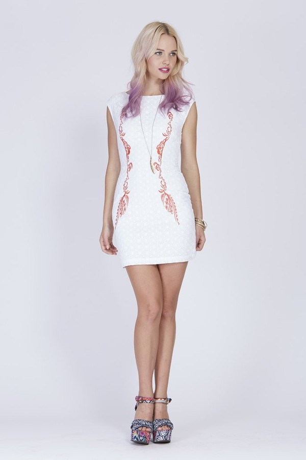 dress embroided anglaise dress by  ladakh white dress embroided dress
