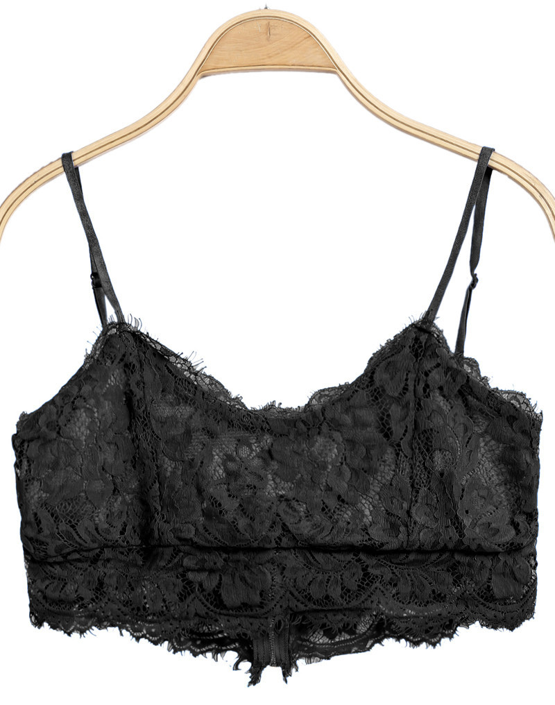Lina Eyelash Bralet Top | Outfit Made