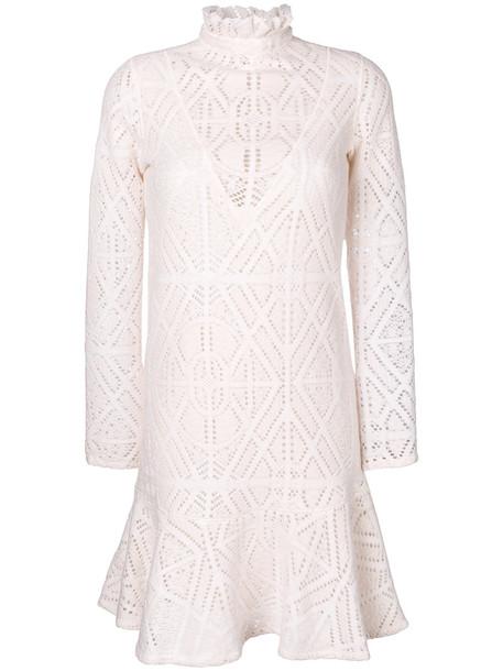 See by Chloe dress women white cotton