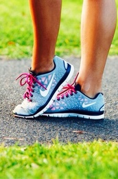 shoes,nike,pink,light blue,nike running shoes,running shoes,pink white and gray with black,nikies,341691,blue shoes,pink strap,nike sneakers,nike free run,nike gray pink,nike shoes,nike shoes for women