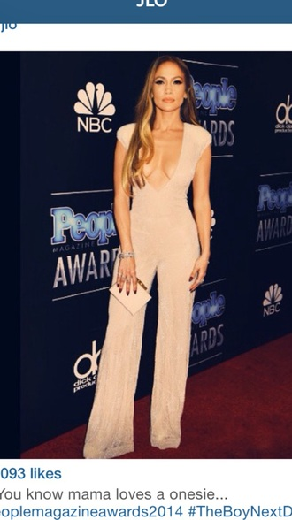 jumpsuit jlo ' where to get ' beige. red lime sunday
