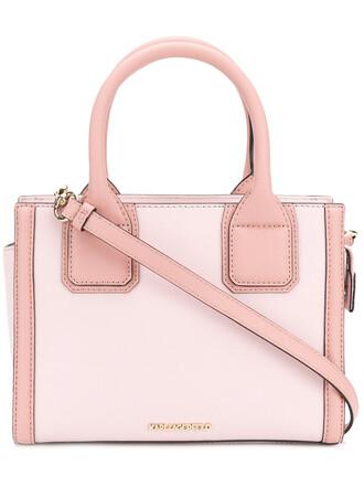 mini women leather purple pink bag