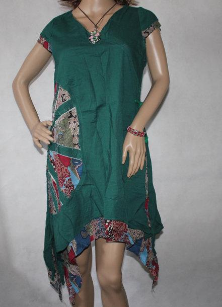 dress dark green dress