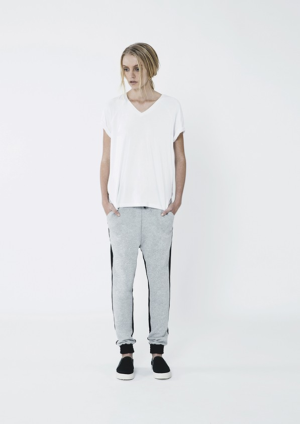 Fifth label dark paradise pants in grey