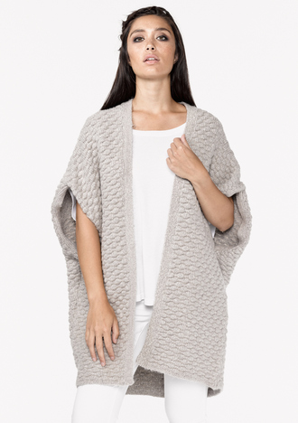 sweater cardigan bohemian taupe lovestitch
