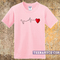 Heart beat t-shirt - teenamycs