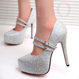 shoes silver prom pumps silver heels fashion fashion inspo sparkle sexy