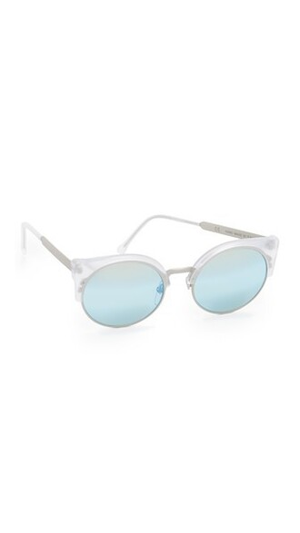 clear sunglasses blue