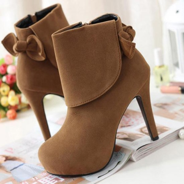 shoes bagsq high heels tan booties tan booties lace up boots nude nude boots tan lace up booties bow bows