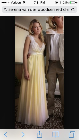 dress blake lively long dress yellow dress ombré prom dress blake lively dress long white dress long yellow dress white dress