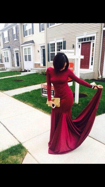 dress burgundy dress burgundy long sleeve dress