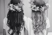 jewels,flower crown,hair accessory,boho,wedding hairstyles