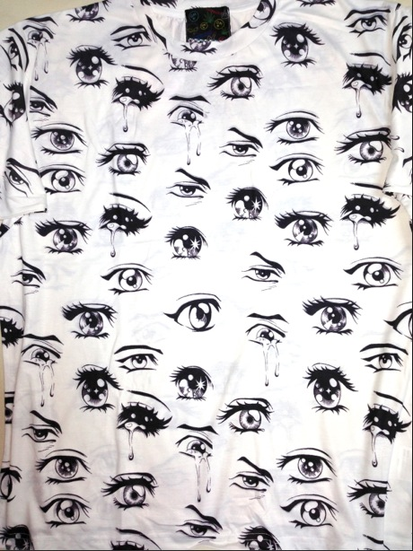 SWEET LORD O'MIGHTY! BIG ASS ANIME EYEZ TEE