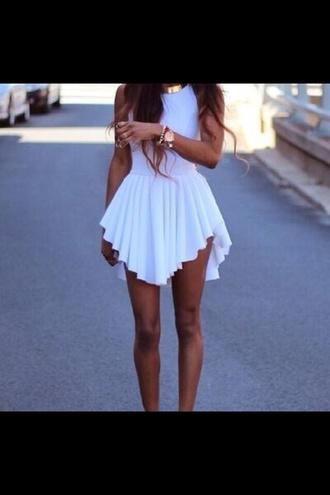 dress flowing white dress white dress white short dress white summer ruffles aliexpress spring white marilyn monroe short