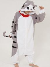 jumpsuit,chi 's kigurumi onesies,animal onesies,onesie