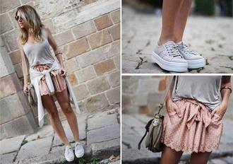perfecto white skirt ouftit vintage classy