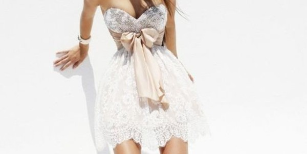 dress formal dress formal sequins bow bow dress sequins dress pretty cute girly