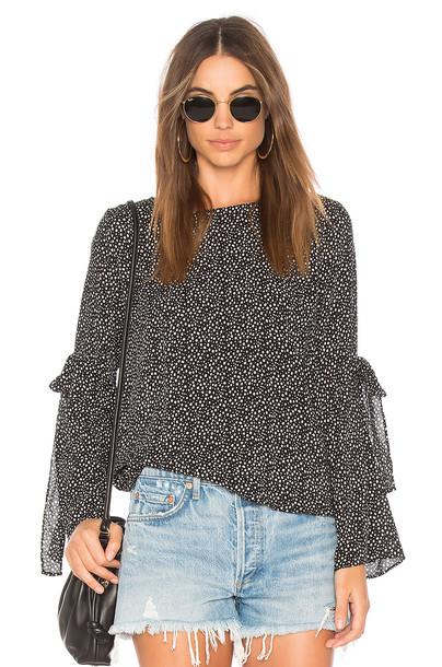 VELVET BY GRAHAM & SPENCER blouse black top