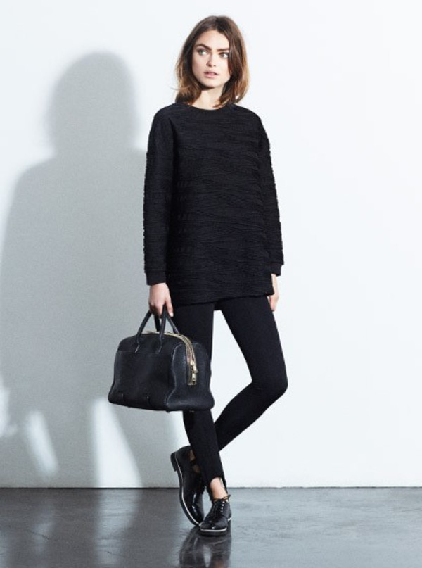 sweater fashion lookbook claudie pierlot