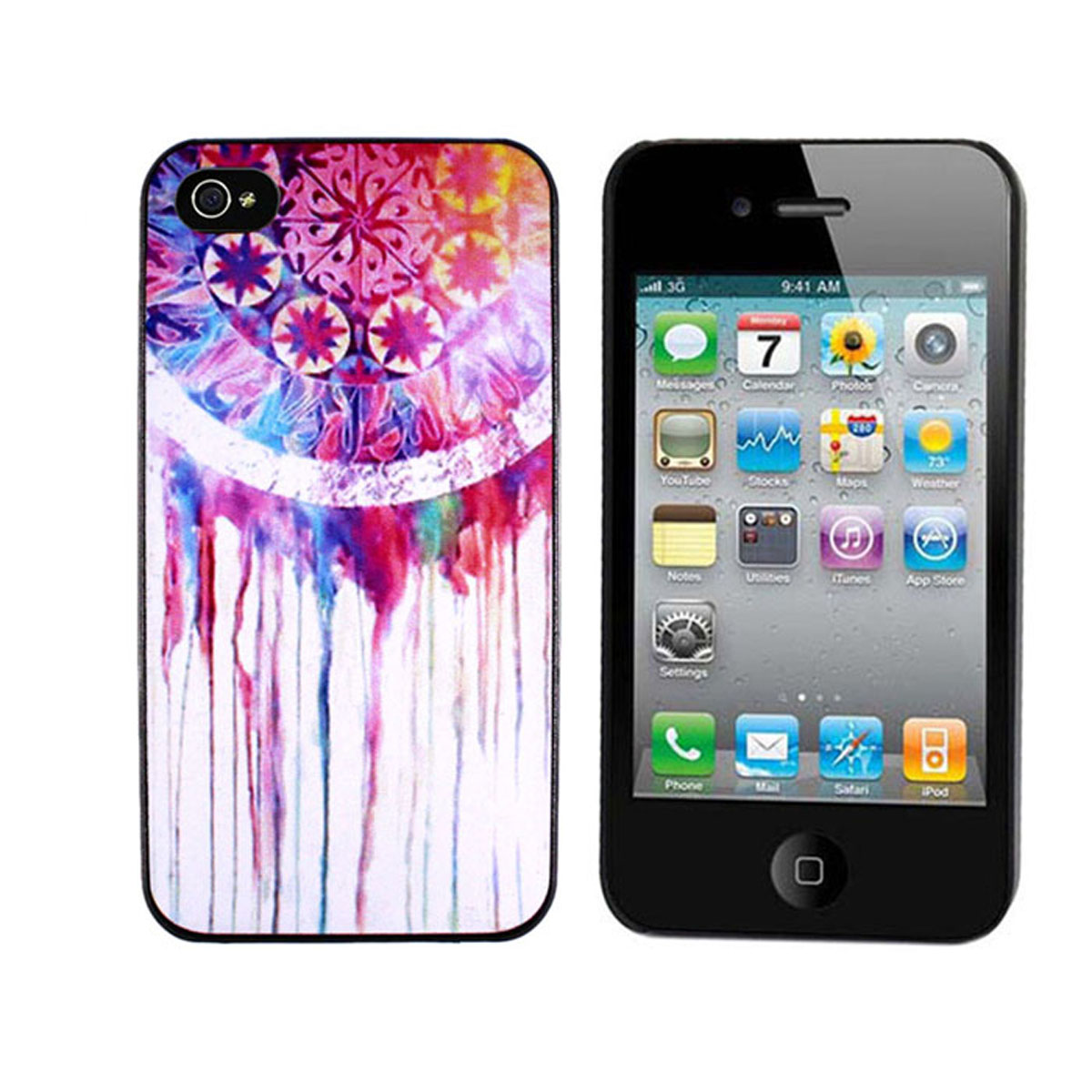 Dream Catcher Tribal Pattern Hard Back Case Cover for Apple iPhone 4 4S 4G 4th | eBay