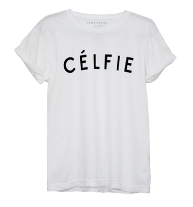 Célfie© / Sincerely Jules