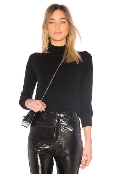 Autumn Cashmere sweater turtleneck turtleneck sweater black