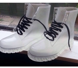 clear boots boots shoes clear clear docs clear timberland boots