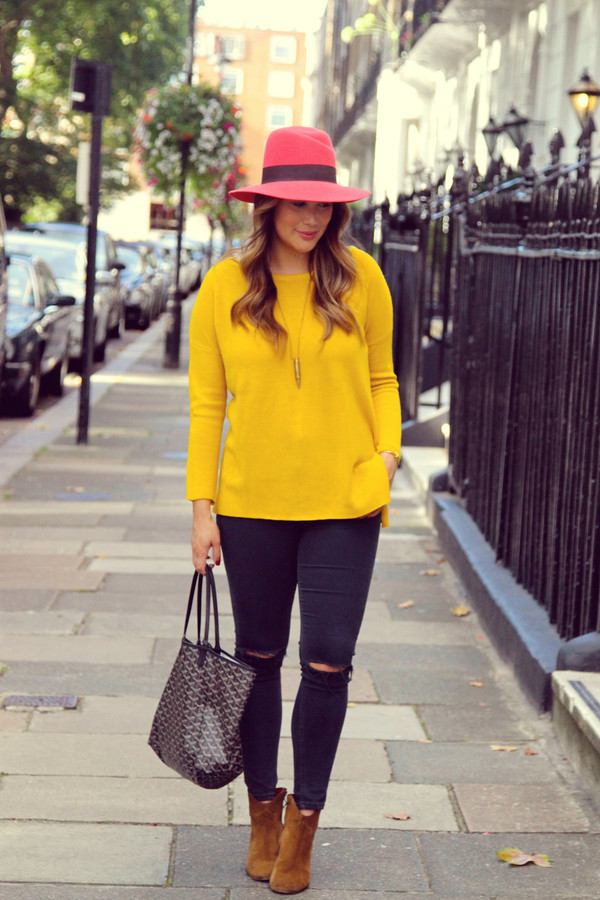 louhayhay blogger jeans shoes bag jewels lemongrass