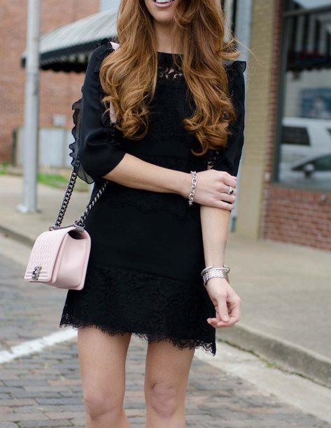 Dress Date Outfit Bracelets Tumblr Mini Dress Black Dress