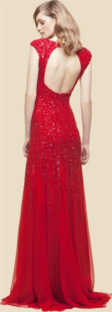 dress ei saab 2012 resort collection sequin dress
