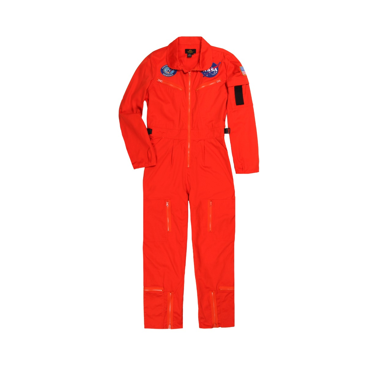 size 40 13ae0 86782 Adult NASA Astronaut Orange Flight Suit | Alpha Industries