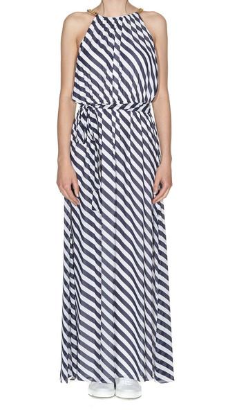 dress maxi dress maxi navy white