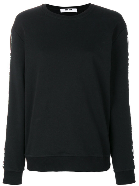 MSGM sweater women cotton black