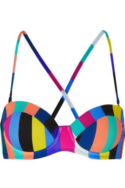 Diane Von Furstenberg bikini bikini top bandeau bikini swimwear