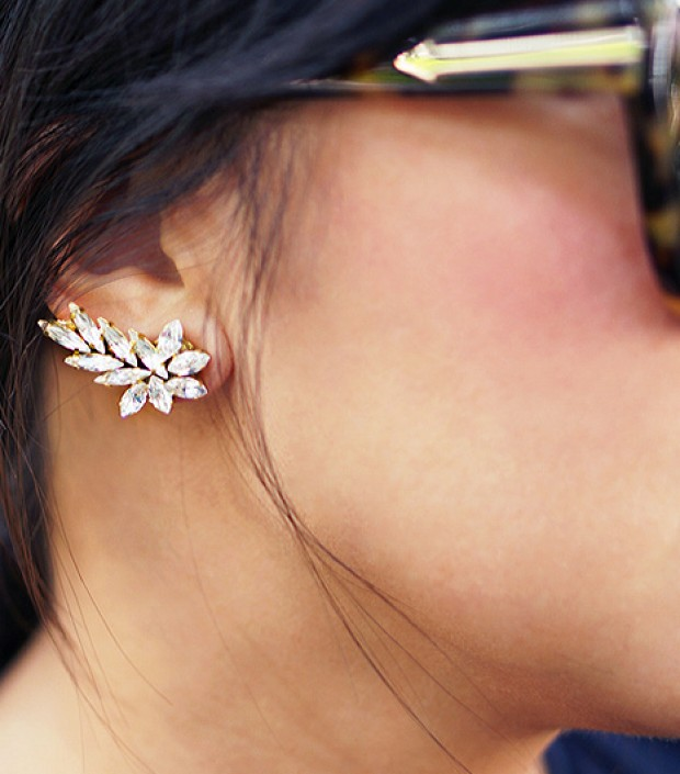 DIY This Easy Ear Cuff For Under $15 | WhoWhatWear.com