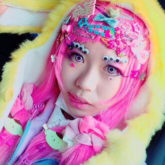 jacket pom pom purin kawaii fairy kei pink pink hair yellow fur coat bow pastel pink kawaii hair accessories googly eyes bunny jacket bunny coat bunny bunny ears long eyelashes make-up japanese writing hair clip clip clips hair barette barette fruits wig fairy kei style japanese kanji white fluffy fuzzy coat fur jacket fur coat stars blue pastel blue light blue sky blue oranhe orange heart glitter cute cute hair gem hair accessory hair hair bow hair adornments polka dots kawaii accessory japanese fashion japanese letters japanese language cute accessories cute hair clip cute hairstyles