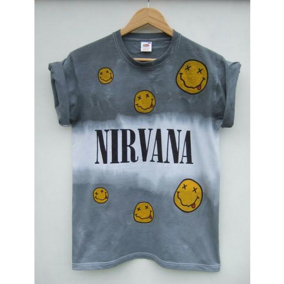 nirvana t-shirt nirvana t-shirt