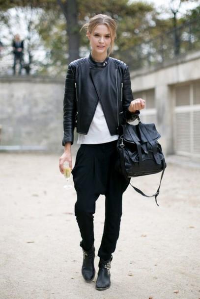 jacket leather black leather jacket perfecto