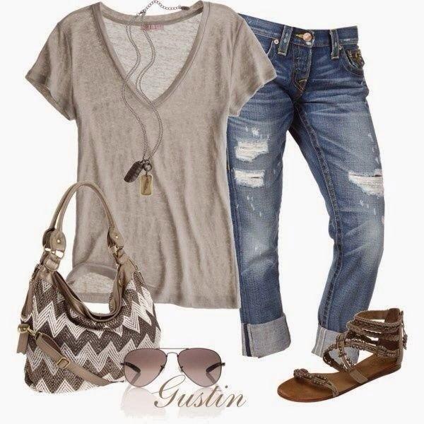 grey top shirt