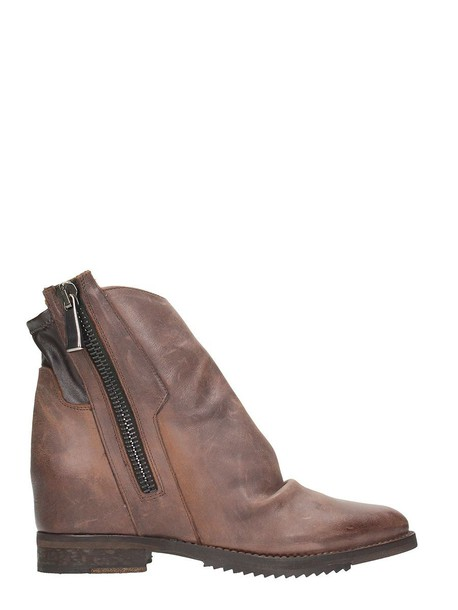 Julie Dee ankle boots brown shoes