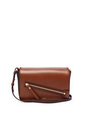 bag,shoulder bag,leather,black,tan